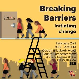 Breaking Barriers: Initiating change JMWL