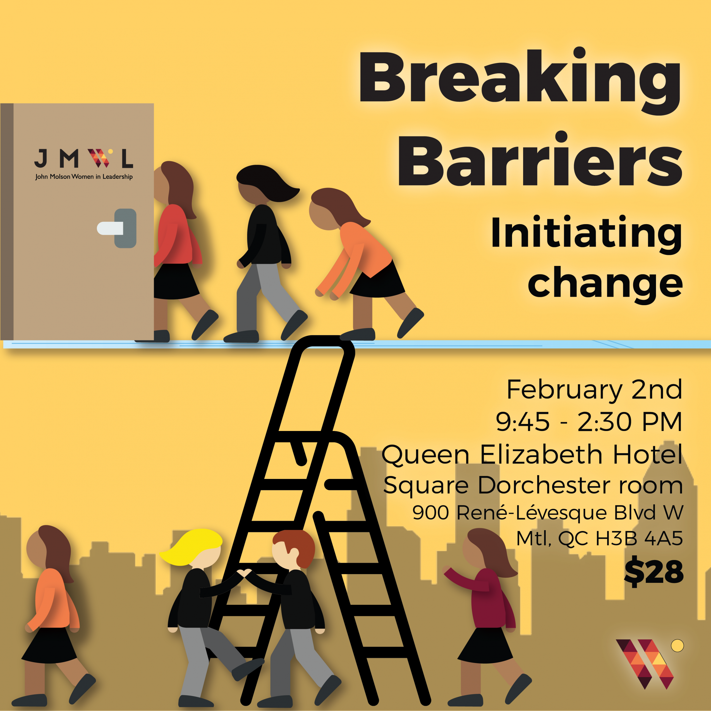 Breaking Barriers: Initiating change JMWL